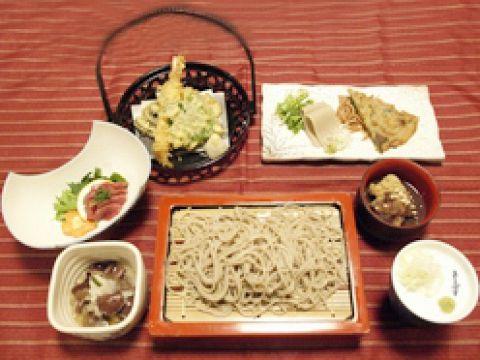 ★宴会★蕎麦をしっかりと楽しむ【常念コース】 3600円