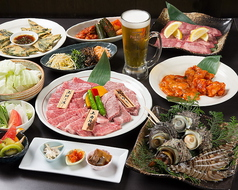 割烹焼肉 松永牧場 北新地店のコース写真