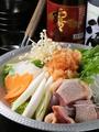 料理メニュー写真【冬鍋】はかた地鶏と白菜の明太みぞれ鍋