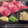 料理メニュー写真黒毛牛ハラミサイコロステーキ