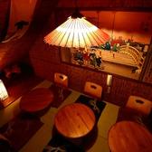 和の温もり溢れる安らぎ個室空間♪ほのかに照らす照明が雰囲気を一層引き立てます◎接待や会社の宴会で大人気のこちらのお席。ゆったりとしたお時間をお楽しみください。