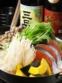 料理メニュー写真【冬鍋】鱈と根菜の味噌バター鍋