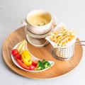 料理メニュー写真野菜とポテトのチーズフォンデュ