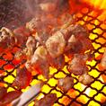 海鮮が苦手な方がいても大丈夫!!炭火焼きや揚物など、肉料理もご多数用意しております。