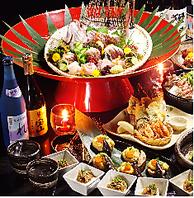 ●豪華に宴会☆鯛の姿盛りクーポン利用でプレゼント