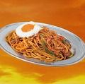 料理メニュー写真洋食屋さんのスパゲッティーナポリタン