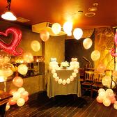 【結婚式の2次会に…】可愛い店内装飾ももちろん受け付けております!!