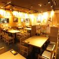 【高田馬場戸山口店】広い空間でのテーブル席★