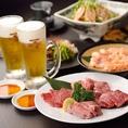 単品のご利用はもちろんのこと焼肉宴会もご利用可能です!一軒家の焼肉になっておりますので、2Fはテーブル席でご用意させて頂いております♪また、2Fのテーブル席は12名様以上で貸切感覚でご利用ができます!その際は個室のような感覚でお席をご利用できますので、周りのお客様を気にせず楽しい焼肉宴会を実施できます!