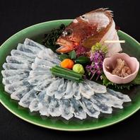こだわりの漁法で獲れた魚を、新鮮なうちにご堪能下さい