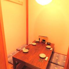 個室のお席ございます。