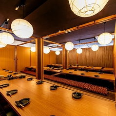 個室と肉と野菜 葵酒 aoizake 神戸駅前店の雰囲気1