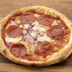 イタリアンサラミのピッツァ