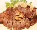 料理メニュー写真サーロインステーキ