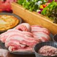 サムギョプサル2時間食べ放題 3,500円!美と健康を考え、栄養たっぷりの豚肉や新鮮なお野菜が食べ放題♪各種宴会に最適です。