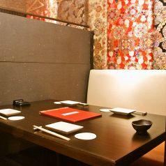 ◆少人数用の個室・半個室を多数ご用意しております◆4名様までご利用頂ける個室席をご完備しております!ゆったりとのんびりとお過ごし頂けるお席は多数あり!シーンに合わせてご利用下さい♪旬の食材を生かしたお料理はどれも絶品です!2時間飲み放題付きコースでも当店の絶品料理をご賞味頂けますので是非ご利用下さい!
