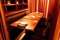会社の宴会や仲間との食事会を、いつもと違う雰囲気で。ラグジュアリーな装飾が印象的な個室は、オトナたちのくつろぎの場にぴったり♪