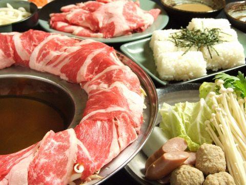 しゃぶしゃぶ、すき焼きを食べ放題飲み放題!宴会コースはクーポンでお得!!