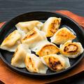料理メニュー写真もっちり焼き餃子<海老入り> 10個