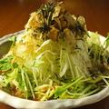 料理メニュー写真【サラダ】きまぐれサラダ・蒸し鶏の生春巻き