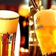 さいたま新都心で6種類の生ビールをお愉しみください!
