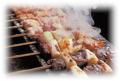 料理メニュー写真串焼きの盛り合わせ(8種類)