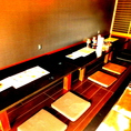 12名席座敷。同窓会や会社宴会などにお使い下さい。