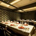 16名様迄ご利用可能の個室席です。会社宴会やお食事会に最適です。コースをご注文の方から優先的にご案内しております。