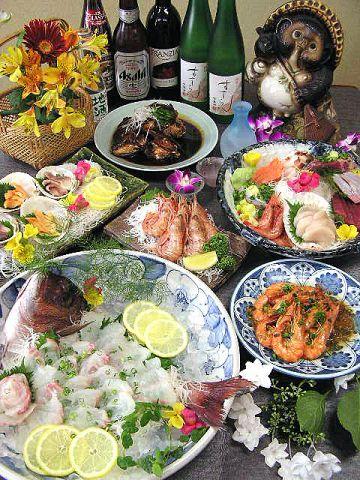 築地市場ほど近くの立地を存分に生かした、新鮮魚介を使ったお料理が魅力です。人気の元祖かま煮はぜひご賞味ください。