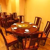 円卓テーブル席(2F)6名様までの完全個室あり◎