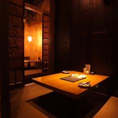 【カップルに大人気】2人個室も完備してます!ちょっとした記念日にもおすすめ。