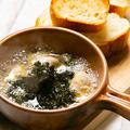 料理メニュー写真牡蠣と海苔のアヒージョ