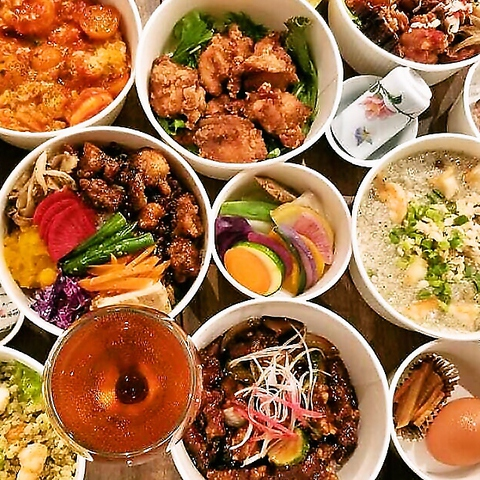 恵比寿駅徒歩5分♪本格茶菜料理と人気の台湾茶が楽しめるレストラン♪