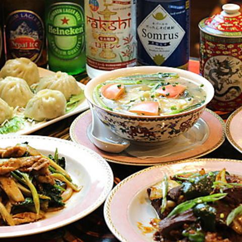 チベット料理 スノーライオン 新町