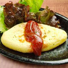 料理メニュー写真チーズのオムレツ