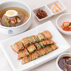 冷麺&チヂミセット