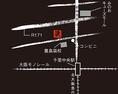 北大阪急行・大阪モノレール「千里中央駅」より車で10分、または阪急バス「豊島高校前」下車すぐになります。
