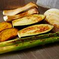 京都丹後の自家農園から直送される新鮮で安全なお野菜を使用。お野菜だけで作った「食菜コース」は、ヴィーガンの方にもオススメですよ♪