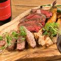 料理メニュー写真肉コンボ3種盛り合わせ