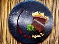 料理メニュー写真フランス産チョコレートのベイクドチョコチーズケーキ