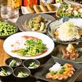 各種宴会★ 当店人気のメニューや季節の料理を使用したコース多数ご用意!※詳細はコースページをご覧ください。 ※写真は一例です。