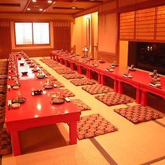 最大50名様迄ご利用可能なお座敷個室もございます。各種宴会にどうぞ。