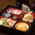 料理メニュー写真『末広弁当』美味しい京料理を少しずつ多彩に味わっていただけるお弁当。女性にも人気です