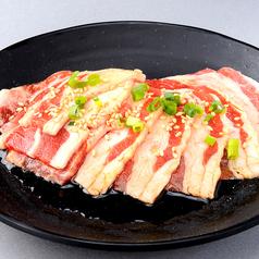 料理メニュー写真ヤングカルビ(牛バラ)