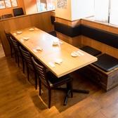 3~7名様掛けのテーブル席もございます♪