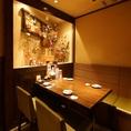 16名様までOKのテーブル席。ちょい飲み仕事帰りの飲み会などにおすすめ!人数に合わせてお席はご案内いたします。