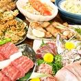 FUJIYAMAコース4000円、プレミアムFUJIYAMAコースは5000円⇒4500円♪静岡名物料理をたっぷり味わえるお得なコースをご用意致しました。旬の食材を使ったお料理をおなか一杯お楽しみください★