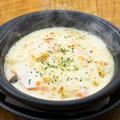 """料理メニュー写真""""伊達のぎん""""と茸のクリーミーチーズ焼き"""