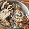 料理メニュー写真播磨灘燦殻付蒸し牡蠣 大