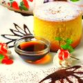 料理メニュー写真分厚い鉄板ホットケーキ (☆20分程度お時間下さい!)